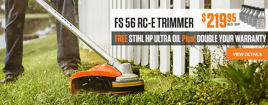 Free STIHL HP Ultra Oil with FS 56 RC-E purchase
